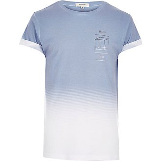 light blue tshirt